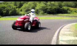 The Stig's 130mph LAWNMOWER!