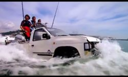 Crossing the Channel in Car Boats! (HQ)