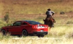Muscle Cars vs Cowboys | Pony Express Race USA