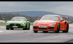 Merc-AMG GT R vs 911 GT3 RS vs BMW M4 GTS | Chris Harris Drives
