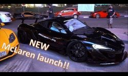 Launch of the new McLaren 570s Spider!