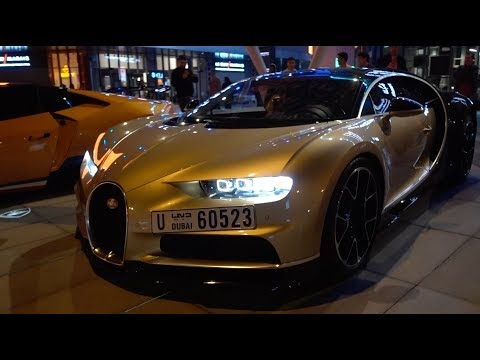 Supercars Drive Through The Worlds Biggest Mall!