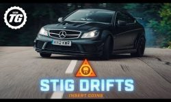 STIG DRIFTS: Mercedes-AMG C63 Black Series