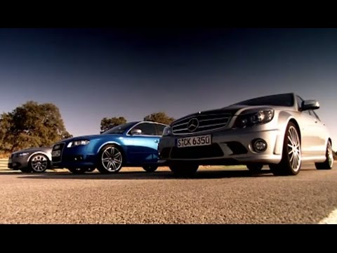 BMW vs Mercedes Vs Audi | Drag Race