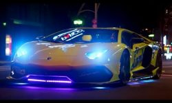 Neon Lamborghini Run in Japan: Series 25 | BBC