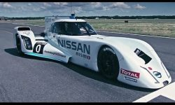 Driving Nissan's 750bhp hybrid Le Mans dart-shaped racer
