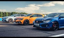 Honda Civic Type R vs Hyundai i30N vs Renault Megane RS Cup 280: Drag Races