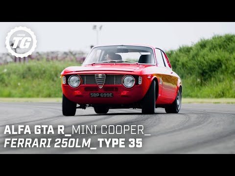 Chris Harris Drives… Retro: Ferrari 250LM, Mini Cooper S, Alfaholics GTA-R