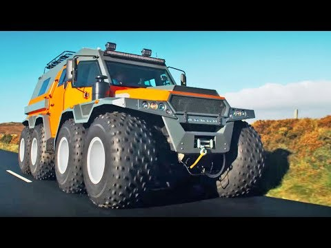 The HUGE Avtoros Shaman 8×8 Series 24 | BBC