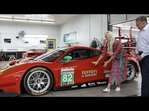 How to start a Ferrari race car – Risi Competizione