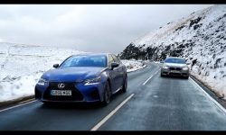 Lexus GS F vs BMW M5 | Chris Harris Drives