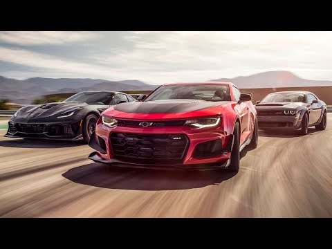 Corvette ZR1 vs Camaro ZL1 vs Dodge Demon