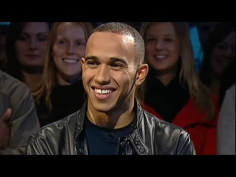 Lewis Hamilton Lap and Interview