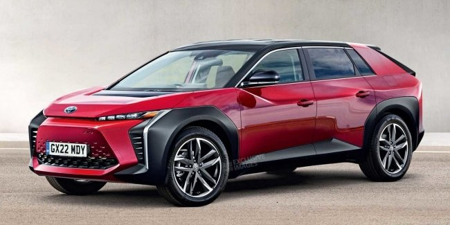 New Toyota Bj: the brand's first all-electric car