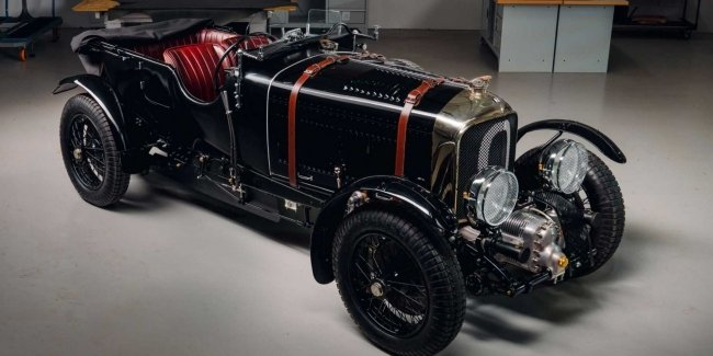 Bentley assembled a pre-war car