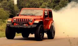 Demon in a Jeep Wrangler