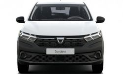 What does the base Sandero look like?