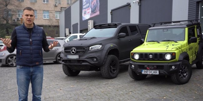 Tuning Suzuki Jimny: turn an SUV into a tank!