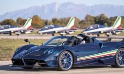 Pagani unveils Huayra Tricolore hypercar limited