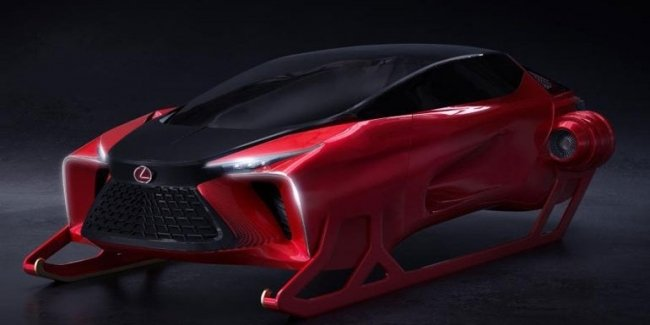 """Lexus introduced a novelty – hybrid sled with """"endless"""" trunk"""