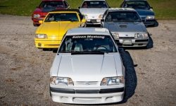 Back in the 80s: Six Fox-Body Mustangs are sold