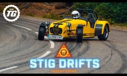 STIG DRIFTS: Caterham 620R; 545kg and 310hp in the wet