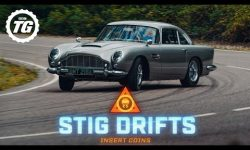 STIG DRIFTS: James Bond's Aston Martin DB5