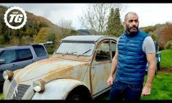 Chris Harris drag races his glorious old Citroën 2CV | Chris Harris Drives
