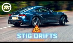 STIG DRIFTS: 2020 Toyota GR Supra drifting on the limit