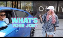 Asking Women Supercar Drivers What They Do For A Living