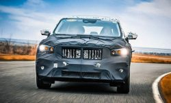Declassified appearance of the new Geely crossover on Volvo platform