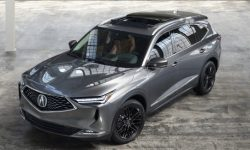 The new Acura MDX is on the conveyor belt