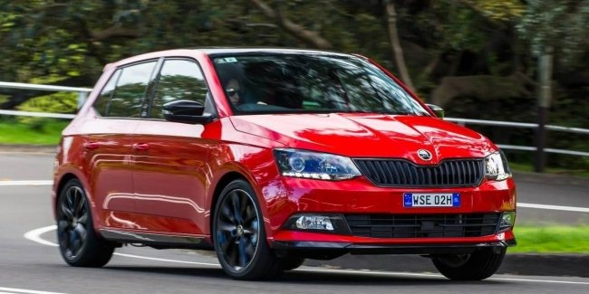 The new generation of Skoda Fabia was caught without camouflage