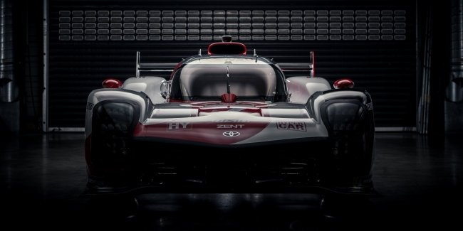 Toyota not for racing? The Japanese presented a hybrid race car