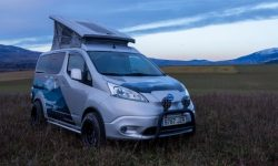 Nissan e-NV200 for winter holidays