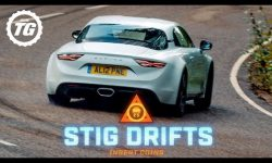 STIG DRIFTS: Alpine A110; is 248bhp enough to drift?