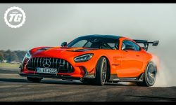 720bhp AMG GT Black Series: is this Stig's most sideways lap ever?!