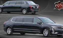 A new limousine for Biden? Presidential Cadillac XT6