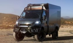 Fully autonomous motorhome for extreme expeditions