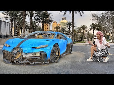 How to get a free Bugatti