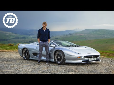 Doing 200mph in a 30-year old Jaguar XJ220: Series 29