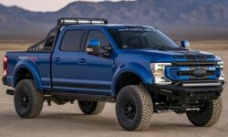 Shelby hit by weights: F-250 superpicap unveiled
