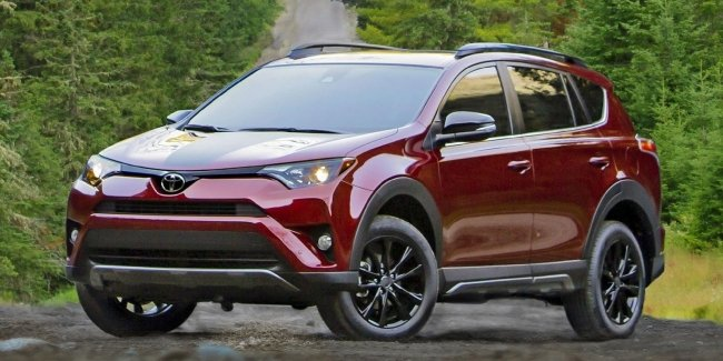 RAV4 turned into a lighter? Crossover will be tested for the danger of fire