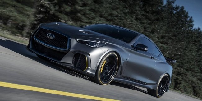 The Infiniti Project Black S will remain in the pictures