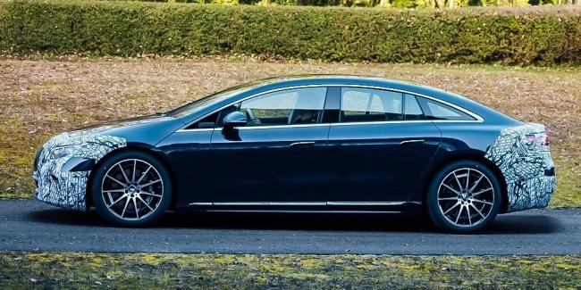 Mercedes E'S: first photos without disguise