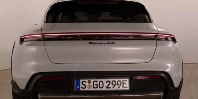 Porsche Taycan Cross Turismo: 'live' photos without camouflage