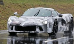 Ferrari is testing a new hypercar