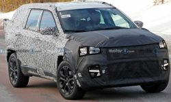 Jeep prepares a new three-row crossover