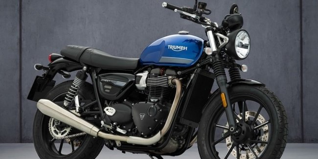 Triumph Street Twin 2021 motorcycle