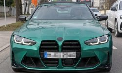 Convertible BMW M4 did not bring surprises